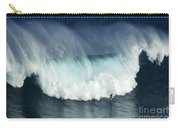 Surfing Jaws Running With Wolves Carry-all Pouch