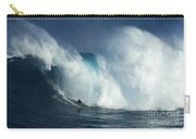 Surfing Jaws Surfing Giants Carry-all Pouch