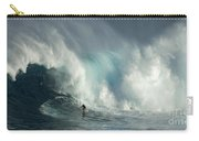 Surfing Jaws The Wild Side Carry-all Pouch
