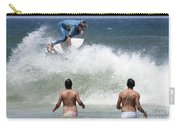 Surfing Joaquina Beach Brazil 1 Carry-all Pouch