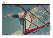 Surfing Kanaha Maui Hawaii Carry-all Pouch
