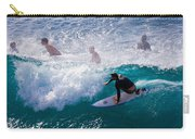 Surfing Maui Carry-all Pouch