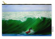 Surf's Up Surfing Wave Ocean Carry-all Pouch