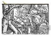 Surgeon Performing An Amputation. Woodcut From An Edition Of Hans Von Gersdoffs Feldtbuch Der Wundartzney, Strassburg, 1540 Carry-all Pouch