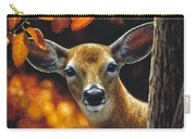 Whitetail Deer - Surprise Carry-all Pouch by Crista Forest
