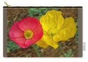 Surprised Poppies Carry-all Pouch