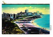 Surreal Colors Of Miami Beach Florida Carry-all Pouch