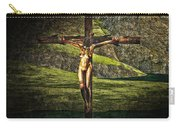Surreal Crucifix Landscape Carry-all Pouch