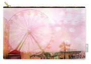 Surreal Dreamy Pink Myrtle Beach Ferris Wheel Carry-all Pouch