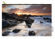 Surrounded By The Tides Carry-all Pouch