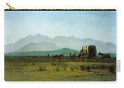 Surveyors Wagon In The Rockies Carry-all Pouch