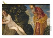 Susannah And The Elders Carry-all Pouch