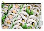 Sushi Platter Carry-all Pouch by Elena Elisseeva