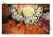 Sushi Tray Carry-all Pouch by Elena Elisseeva