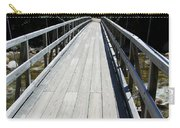 Suspension Bridge Over Pemigewasset River Nh Carry-all Pouch
