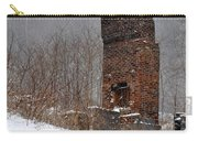 Sutherland Chimney In Winter Number One Carry-all Pouch