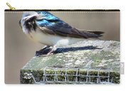 Swallow In The Wind Carry-all Pouch