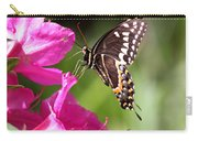 Swallowtail And Azalea - Love Carry-all Pouch