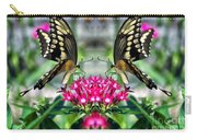 Swallowtail Butterfly Digital Art Carry-all Pouch