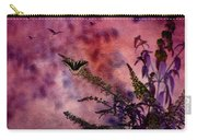 Swallowtail In The Butterfly Bush - Featured In The Wildlife And Comfortable Art And Newbies Groups Carry-all Pouch