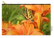 Bright Summer Flowers Carry-all Pouch