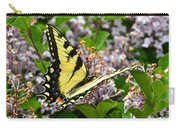 Swallowtail On Lilacs Carry-all Pouch