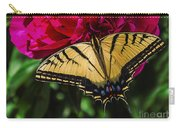 Swallowtail On Peony Carry-all Pouch