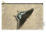 Swallowtail On The Rocks Carry-all Pouch