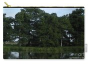 Swamp Cypress Trees Digital Oil Painting Carry-all Pouch