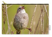 Swamp Sparrow Split Decision Carry-all Pouch