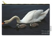Swan And Signets Carry-all Pouch