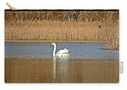 Swan And Swallow Carry-all Pouch