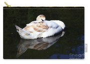Swan Asleep Carry-all Pouch