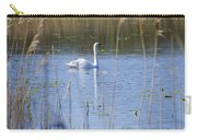 Swan At Derryallen Lough Carry-all Pouch