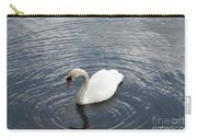 Swan Circles Carry-all Pouch