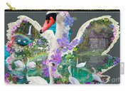 Swan Day Dream Carry-all Pouch by Alixandra Mullins