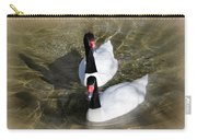 Swan Duo Carry-all Pouch by Marty Koch