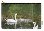 Swan Family Squared Carry-all Pouch