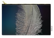 Swan Feather Carry-all Pouch