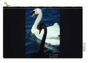 Swan Friends Carry-all Pouch