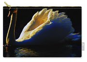 Swan In Golden Light Carry-all Pouch