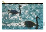 Swan Lake Carry-all Pouch by Ayse Deniz