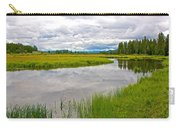 Swan Lake In Grand Teton National Park-wyoming  Carry-all Pouch
