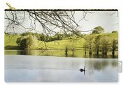 Swan Carry-all Pouch by Les Cunliffe