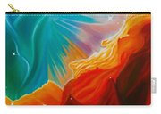 Swan Nebula Carry-all Pouch by Barbara McMahon