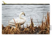 Swan On Shore Carry-all Pouch