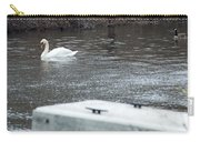Swan On The Water Carry-all Pouch