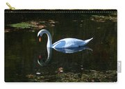 Swan Solitude Carry-all Pouch