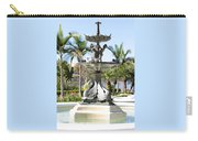 Swan Fountain In Lakeland Carry-all Pouch