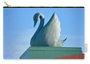 Swan Statue Carry-all Pouch